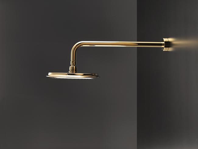 Accesorios De Baño Noken:de baños los acabados dorados revolucionan la decoración de baños