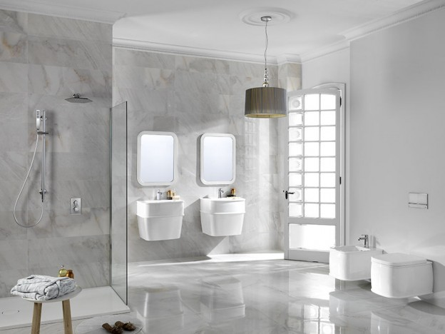 The new finishes of the chelsea series stand out among for Bathroom ideas 2015
