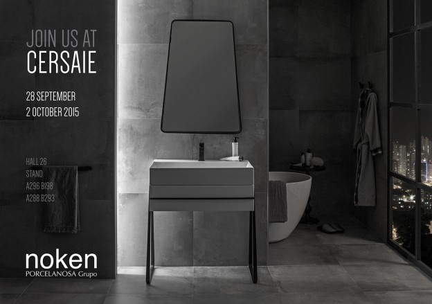 Cersaie 2015_Noken_Porcelanosa bathrooms