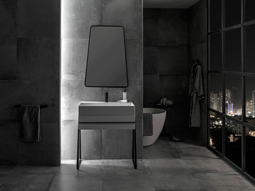 Cersaie 2015 best in bathroom design symmetry and for Best bathrooms 2015