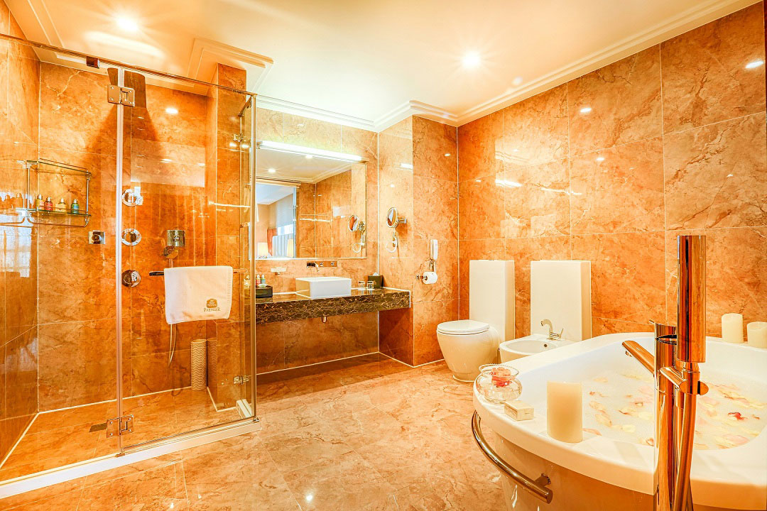 Noken in best western premier tuushin hotel in mongolia for Best bathroom interior