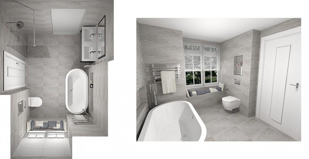 First and Ground Floor Shower Room Plano Noken Bathroom equipment 4