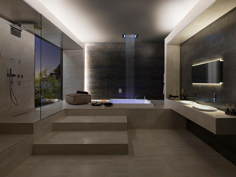 Gestalten Sie einen Spa-Bereich im eigenen Badezimmer. Wellness ...