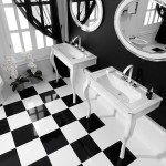 Trends-Black-and-White-equipamiento-de-baños-Porcelanosa-bathrooms