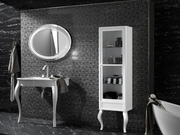 Blanco negro el elegante contraste que dota de exclusividad al dise o de ba os - Banos de contraste ...