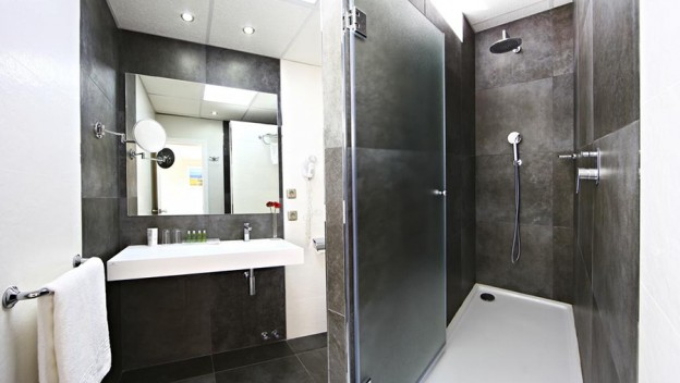 Hotel Joan Miro Museum Porcelanosa bathrooms Noken