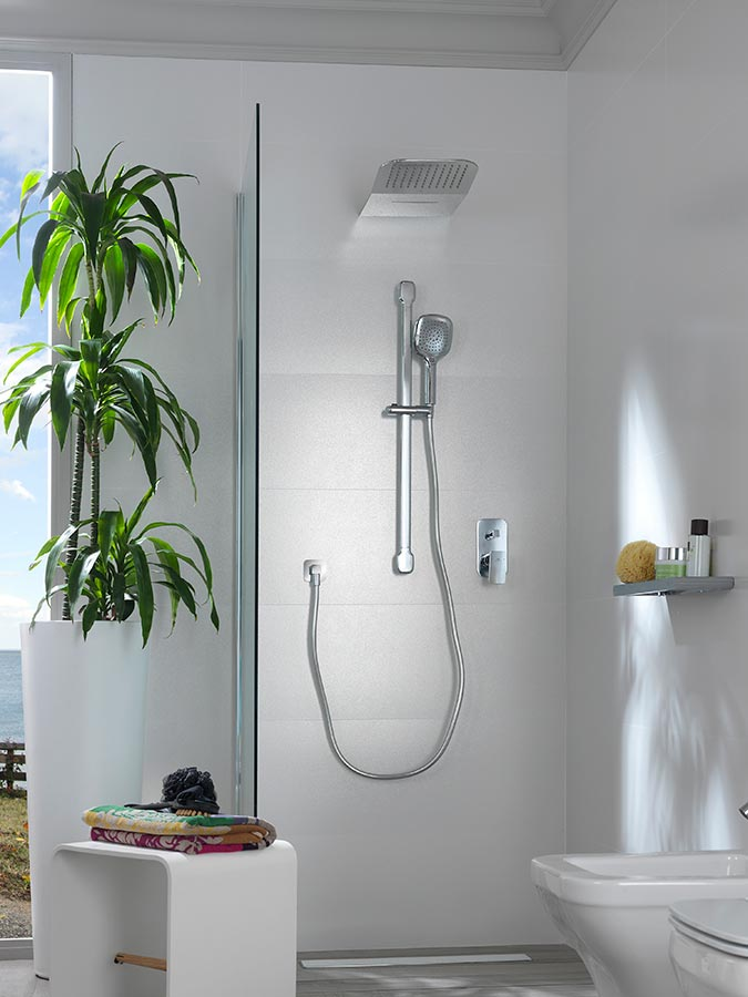 Ideal showers for unique moments sumptuousness and for Duchas modernas fotos
