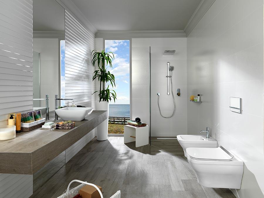 Des wc quelques centim tres du sol la tendance qui for Salle de bain tendance 2016