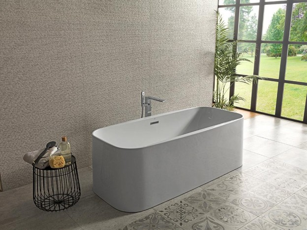 Noken-banera-exenta-Lounge-square-Porcelanosa-bathrooms