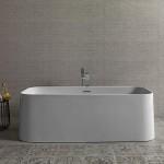 Noken-banera-exenta-Lounge-square-Porcelanosa-bathrooms