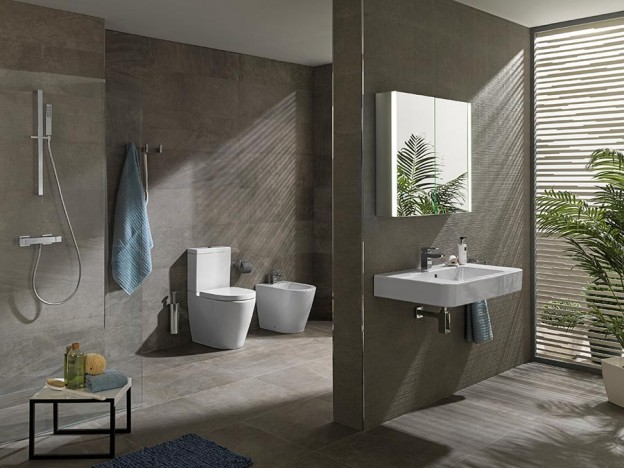 High performance bathrooms quality design and sustainability - Salle de bains porcelanosa ...