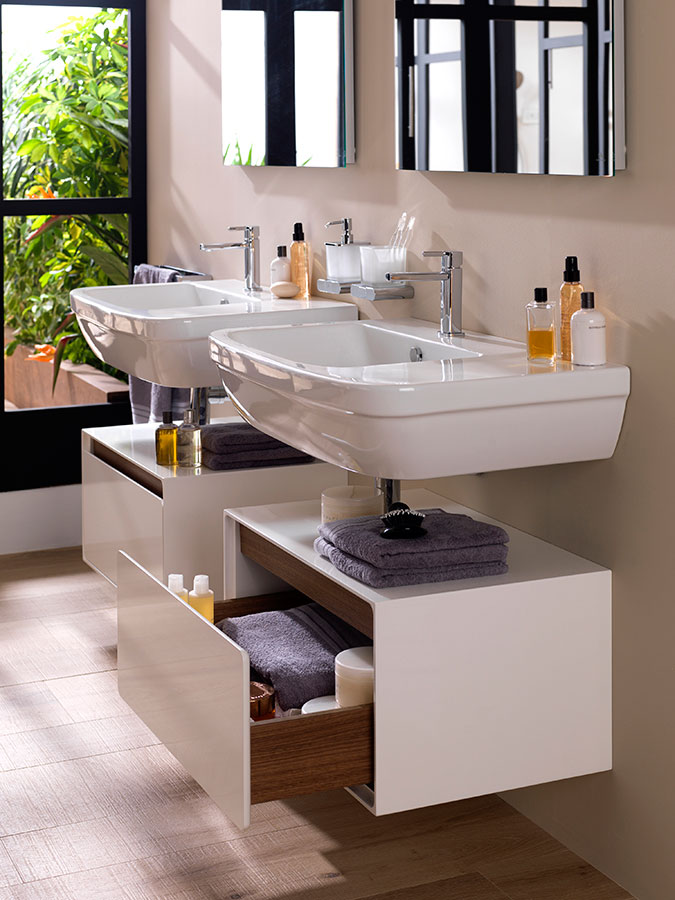 Nk concept the integral and exceptional solution for for Meuble salle de bain porcelanosa prix