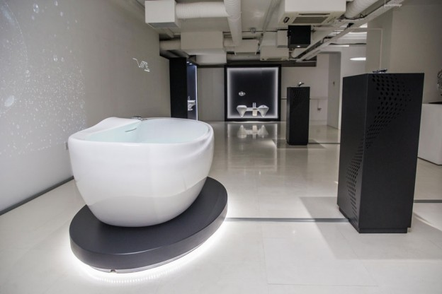 ... Porcelanosa Bathrooms Presentacion Vitae London Zaha Hadid Noken