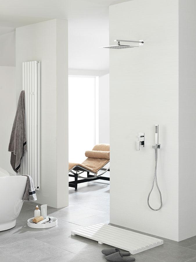 Baño O Ducha Que Es Mejor: rociadores nk logic giro o neptune slim en formato redondo o cuadrado