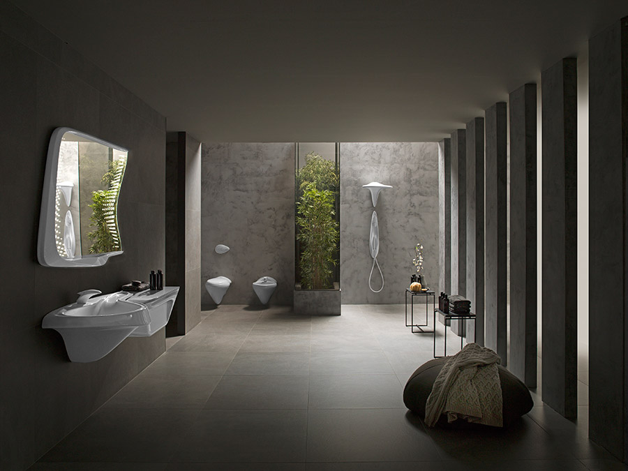 cersaie 2016 vitae o la evoluci n del ba o del futuro por zaha hadid. Black Bedroom Furniture Sets. Home Design Ideas