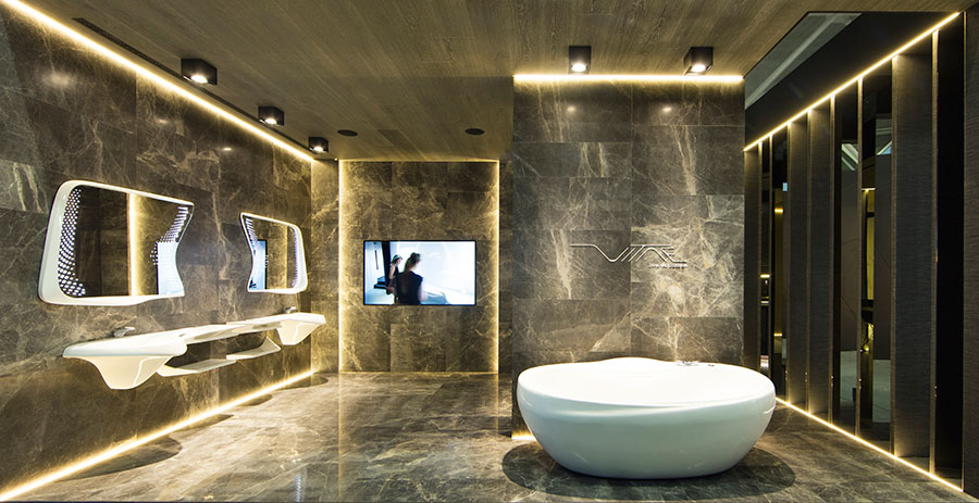 Cersaie 2016 Balcance Noken Porcelanosa Bathrooms