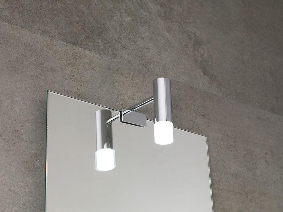 Apliques para espejos el complemento de ba o perfecto for Apliques bano