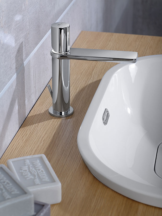 The best basin taps i adapt the type of installation to for Porcelanosa faucets