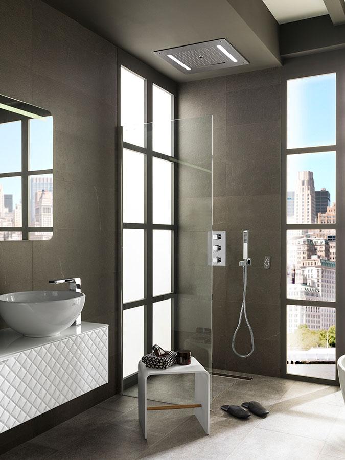 C mo decorar un ba o urbano minimalismo y luz para lograr for Urban bathroom ideas
