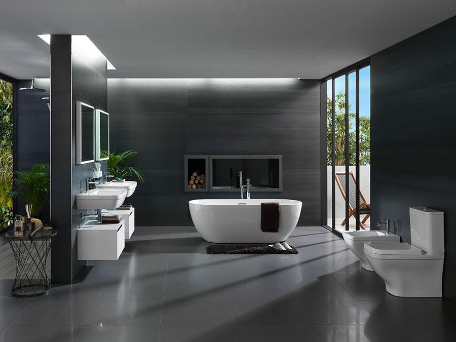 ba os amplios c mo decorar ba os modernos en los que el On baños amplios y modernos