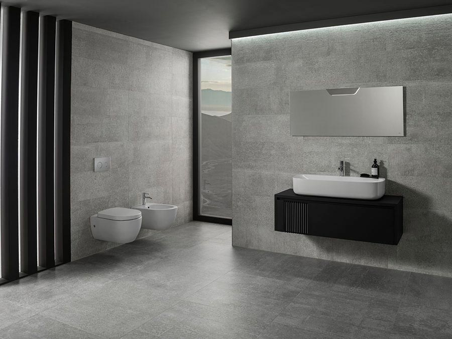 The architect round pack the bathroom gives in to a for Decoracion contemporanea interiores