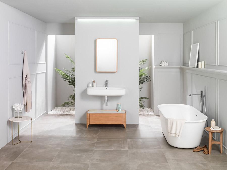 Cersaie 2017 : les nouveaux meubles de salle de bain Nature ...