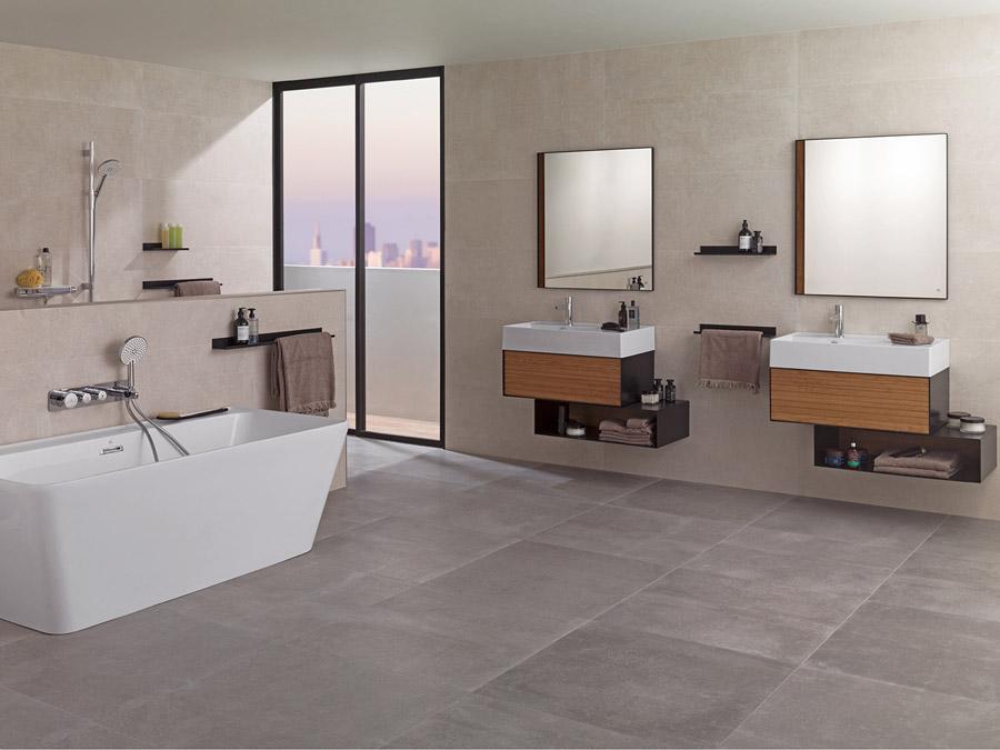 Cersaie 2017 nuevos muebles de ba o nature y frame - Muebles bano porcelanosa ...