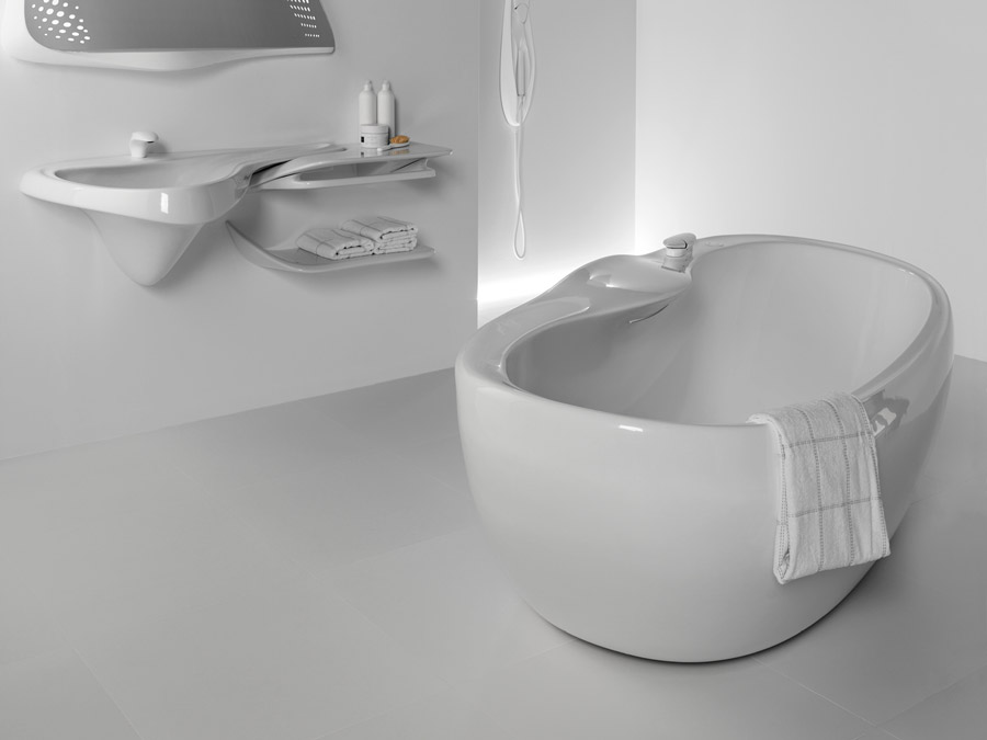 Baneras Exentas Noken Porcelanosa Bathrooms 3