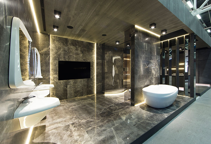Bathroom Shower Faucets >> Cersaie 2016: The most exclusive bathroom design captivates the professional public | Noken