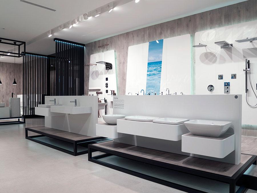 Der Showroom von Noken auf der 24. Internationalen Ausstellung ...
