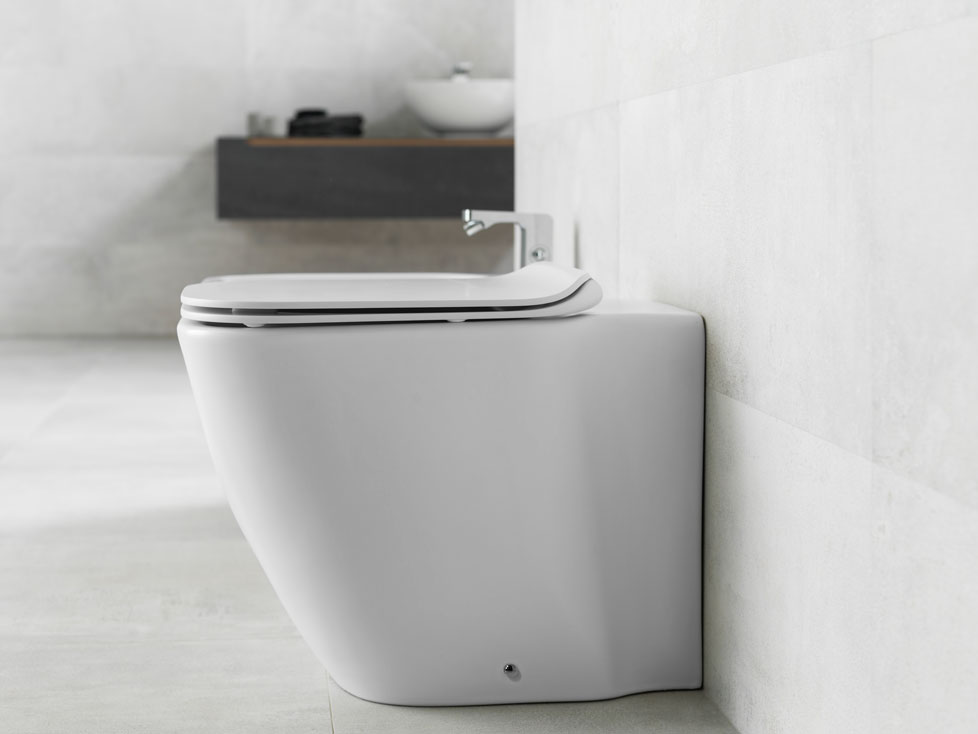 rimless back to wall toilet